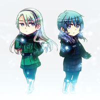 Ice Girls by Cioccolatodorima