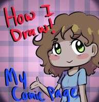How I colour pages .:LINK:. by Chibi-Works