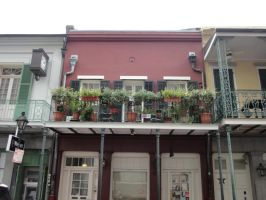 New Orleans Building 4 by Kizzarina
