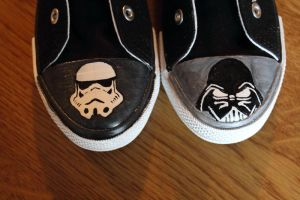 starwars shoes by eat
