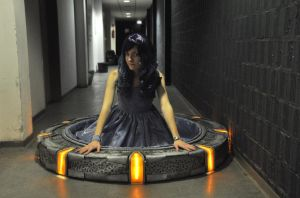 Sitting in a Stargate is fun :D by Nyima-chan