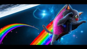 Nyan Cat by RadulfGreyhammer