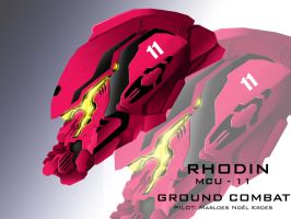 Mecha Head Concept: Rhodin by bcetin