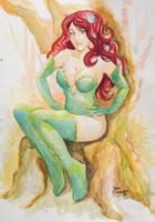 Poison Ivy - Original Art -Selling by roemesquita