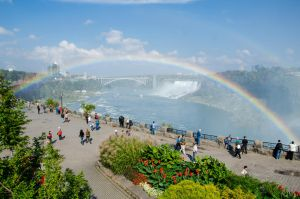 Niagara Falls 129 Double Rainbow by FairieGoodMother