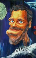 A Caricature of Hugh Laurie by alex-ek