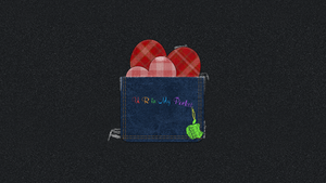 Pocket Love Apple Wallpaper by malytopol