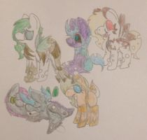 Pony draw-to-adopts -OPEN- by Equinoxthealicorn