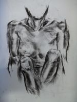 Figure Drawing of woman by Oliver-Hamlin