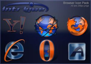 Intrigue Browser Pack by SKoriginals Iconos para Windows XP