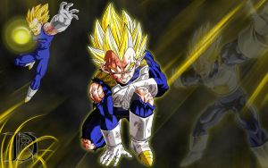 Vegeta_Wallpaper by DaRkReApEr777