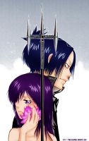Mukuro and Chrome by willy-goldfinch