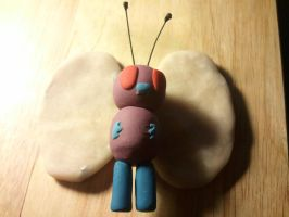WIP Butterfree Clay by UntouchedRayne