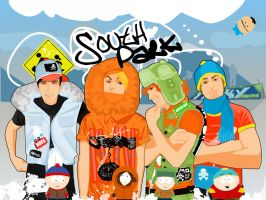 South Park All Grown Up by goodbye-tobe