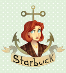 Starbuck by Sutexii