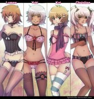Lingerie by lightshelter