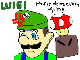 Mario always does everything. by carabao89