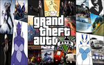 My Gta 5 Wallpaper with logo by nickanater1