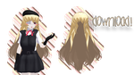 #1 Hair - DL! by mmd-neko123