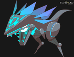 Starbound - Lucent Raptoid by Dragonith