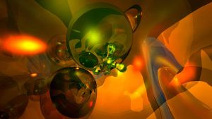 Abstract Globes by Crazywulf