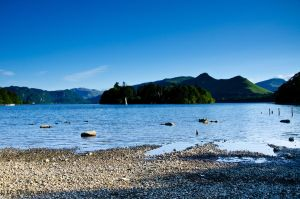 Evening at Keswick by Red-Smurfette