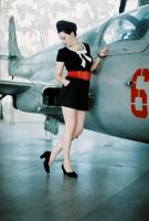 aviation et femme I by 5kablelis16