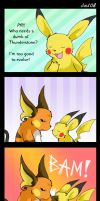 Shut Up, Pikachu by raizy