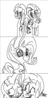 pony sketches by THAT-Technique
