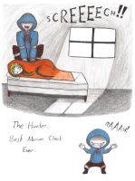The Hunter: Best Alarm Clock Ever. by Paranoia-chan