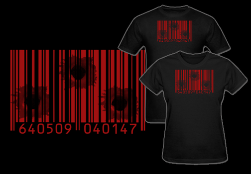 Hitman Agent 47 Barcode T Shirt by Enlightenup23