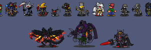 Sprites by NO-Body-The-Dragon