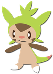 Chespin Doodle by Riku-Eevee