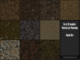 PS Patterns - Rocky dirt by halmtier