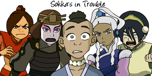 Sokka's in Trouble by Kurlee-Kue