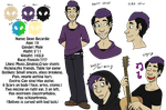 Dean Becardie Ref Sheet by TheLittlehoneybee