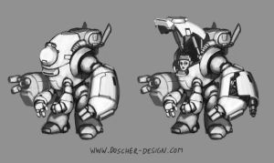 Crusher Suit by MikeDoscher