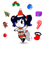 Minox Christmas Doll by MinoxTheCat