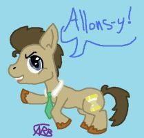 Doctor Whooves by uhnevermind