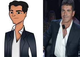 Simon Cowell in TDI Style by Mocallio2