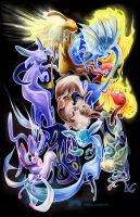 Eeveelutions by fleebites