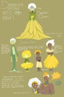 Dandelion People by Candlette