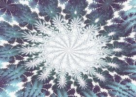 Hyperbolic Snowflakes by baba49