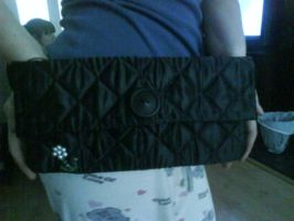 Quilted Clutch by sarahbevan11