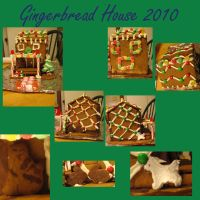 Gingerbread House 2010 by Elfmaiden687