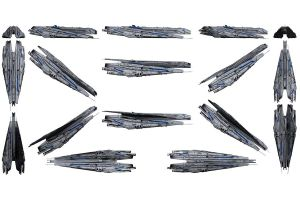 Mass Effect 3, Alliance Dreadnought Reference. by Troodon80