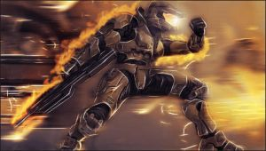 Halo PSP Wall by N-I-G-H-T-O
