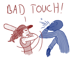 Bad Touch by sporkpirate