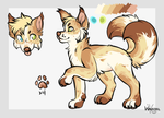 :OTA: two-tailed fox by wagstail