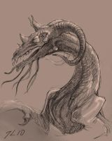 dragon creature thing by theOvercoat